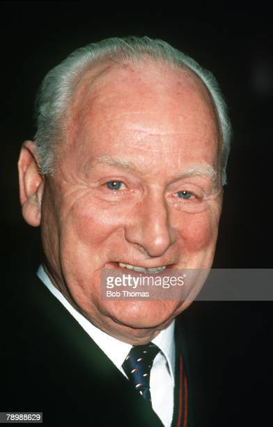 15th January 1991, Tom Finney, the former Preston North End and England footballer
