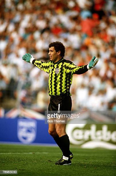 15th June 1988 European Cahmpionship Dusseldorf England vs Holland Peter Shilton England
