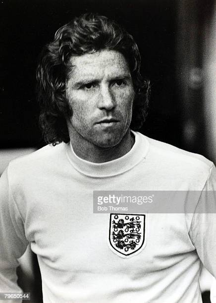 15th May 1973 Alan Ball England portrait Alan Ball born 1945 numbered amongst his clubs Blackpool Everton and Arsenal When transferred from Blackpool...