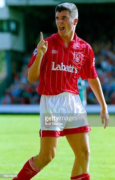 16th August 1992 Premier League Nottingham Forest 1 v Liverpool 0 Roy Keane Nottingham Forest