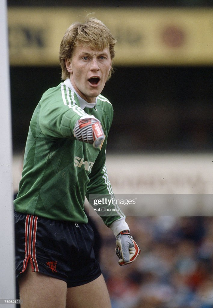 Sport. Football. pic: 16th September 1989. Division 1. Gary Walsh, Manchester United goalkeeper. : Foto di attualità