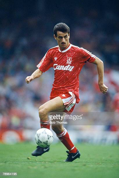 16th September 1990, Division 1, Ian Rush, Liverpool striker 1979-1996, who also won 73 Wales international caps between 1980-1996