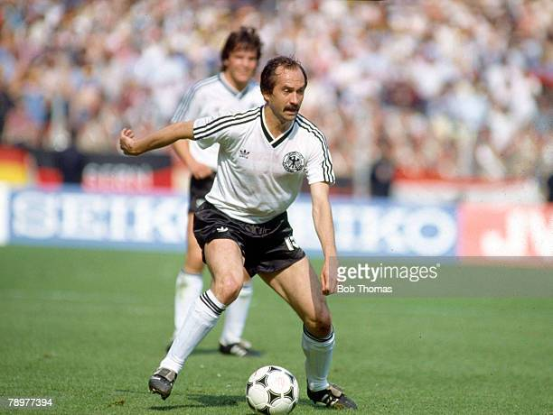 17th June 1984 European Championship in Lens West Germany 2 v Romania 1 Uli Stielike West Germany 19751984 who 42 West Germany international caps