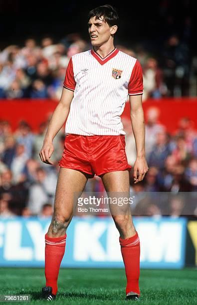 17th September 1983 Division 1 Stoke City 0 v Watford 4 Steve Bould Stoke City