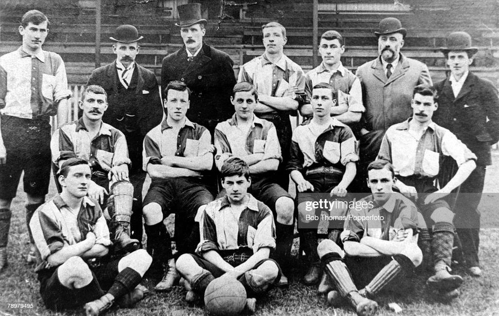 Sport. Football. pic: 1897-1898. Northampton Town F.C. The Cobblers : News Photo