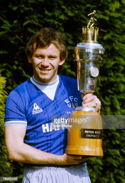 18th April 1985 Everton midfielder Peter Reid the 1985 PFA Player of the Year Peter Reid won 13 England international caps between 19851988