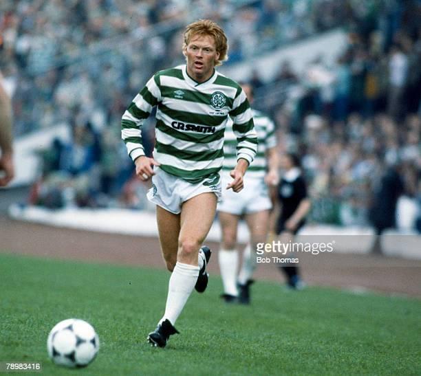 18th May 1985 Scottish Cup Final at Hampden Park Dundee United 1 v Celtic 2 Maurice Johnston Celtic striker