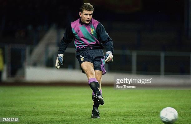 18th November 1992 World Cup Qualifier Ibrox Park Scotland 0 v Italy 0 Andy Goram Scotland