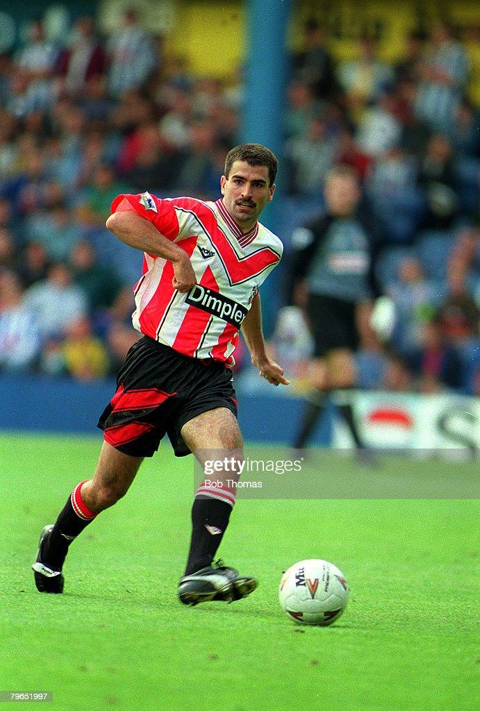 18th September 1993, F,A,Carling Premiership, Sheffield Wednesday 2 v Southampton 0, Francis Benali, Southampton