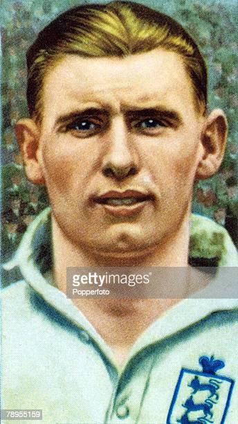 S, Cliff Bastin, England, The Arsenal outside left won 21 England international caps betwen 1932-1938