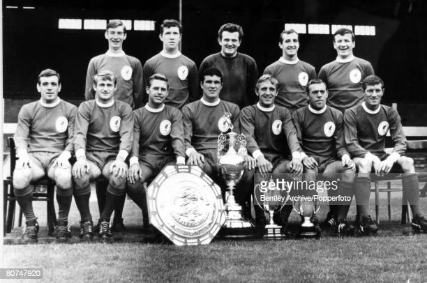 1966 Liverpool FC League Champions 19651966 Back row leftright Geoff Strong Chris Lawler Tommy Lawrence Gerry Byrne Tommy Smith Front row leftright...