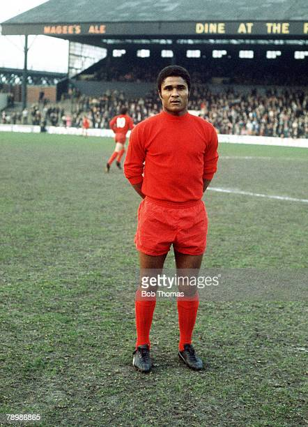 1971 Eusebio the Benfica and Portugal star