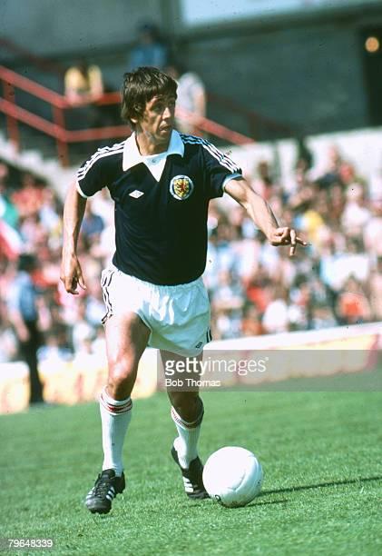 Don Masson, Scotland, who won 17 Scotland international caps between 1976-1978