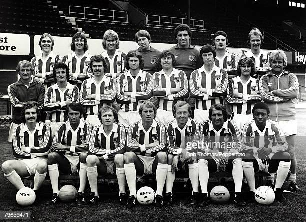 1977 Stoke City FC pictured at the Victoria Ground Pictured include Peter Shilton Manager George Eastham and Garth Crooks
