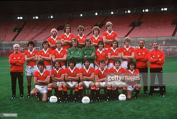 1978 Manchester United 1978 1979 Back row left right Jimmy Greenhoff Joe Jordan Stewart Houston Jimmy Nicholl Gordon McQueen Middle Row left right...
