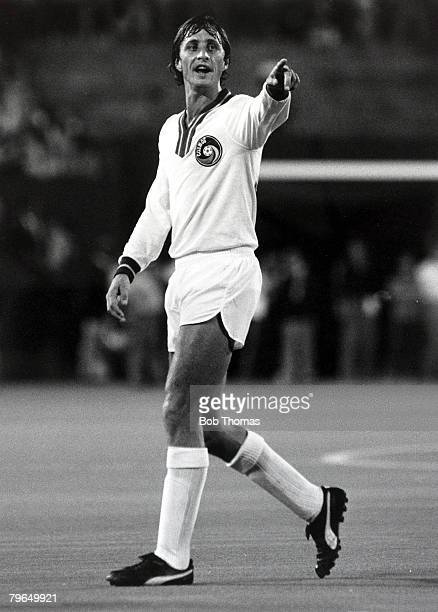 New York Cosmos 2, v World All Stars XI 2, at the Giants Stadium, New York, Johan Cruyff, New York Cosmos