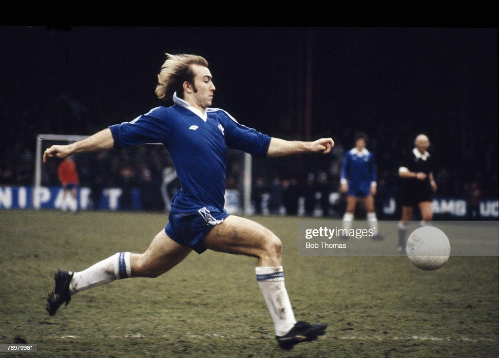 Sport. Football. pic: 1979. Clive Walker, Chelsea 1976-1983. : News Photo