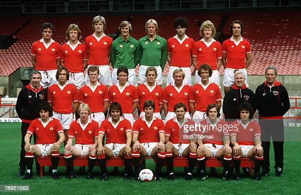 19791980 season Manchester United squad Back row leftright Kevin Moran Jimmy Nicholl Gordon McQueen Paddy Roche Gary Bailey Nikola Jovanovic Ashley...