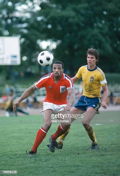 1980 Under21 International Sweden v England Cyrille Regis England Under21 Cyrille Regis won 5 England international caps between 19821988