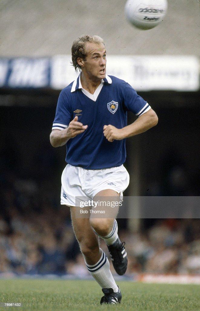 Sport. Football. pic: 1980's. Ian Wilson. Leicester City. Ian Wilson also won 5 Scotland international caps between 1987-1988. : News Photo