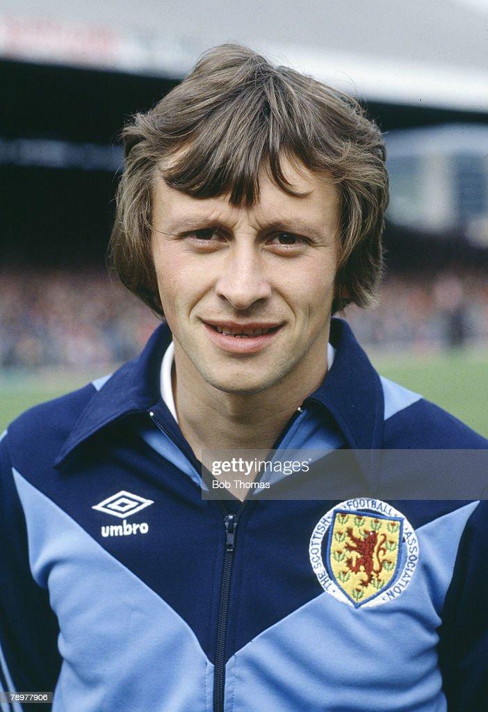 Sport. Football. pic: 1980's. Paul Sturrock, Scotland, who won 20 Scotland international caps between 1981-1987. : News Photo