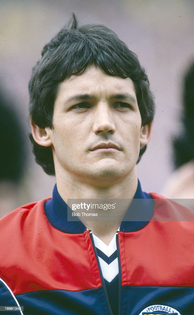 Sport. Football. pic: 1980's. Sport. Football. George Burley, Scotland, who won 11 Scotland international caps between 1979-1982. : News Photo