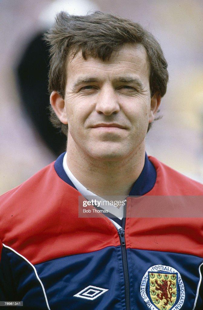 Sport. Football. pic: 1980's. Sport. Football. John Robertson, Scotland, who won 28 Scotland international caps between 1978-1984. : News Photo