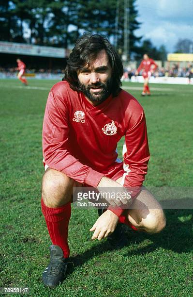 1983 Division 3 Bournemouth v Newport County George Best Bournemouth