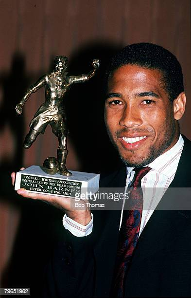 1989 Liverpool and England's John Barnes the Footballer of the Year 19891990