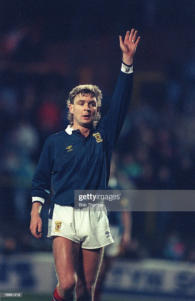 Sport. Football. pic: 1989. Peter Grant, Scotland. : News Photo