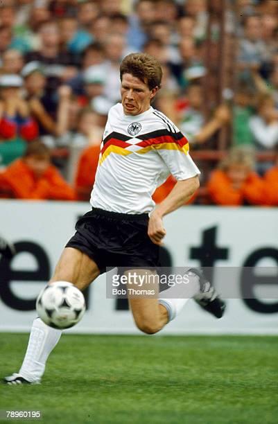 1990 Friendly International in Dublin Republic of Ireland 1 v West Germany 1 Stefan Reuter West Germany Stefan Reuter was a 1990 World Cup winner...