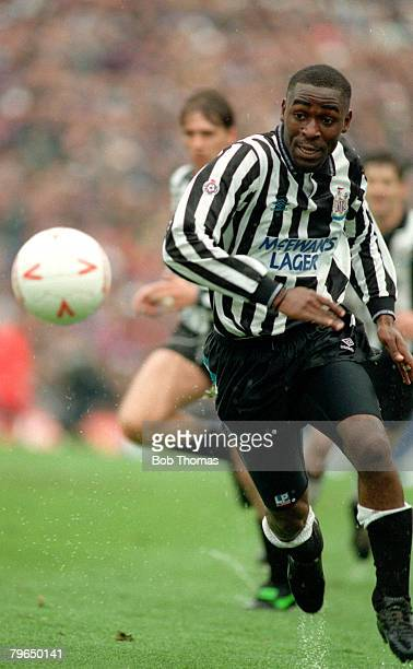 1993 Division 1 Newcastle Unitedv Sunderland Newcastle United striker Andy Cole on the ball Andy Cole made a name for himself at Newcastle United...