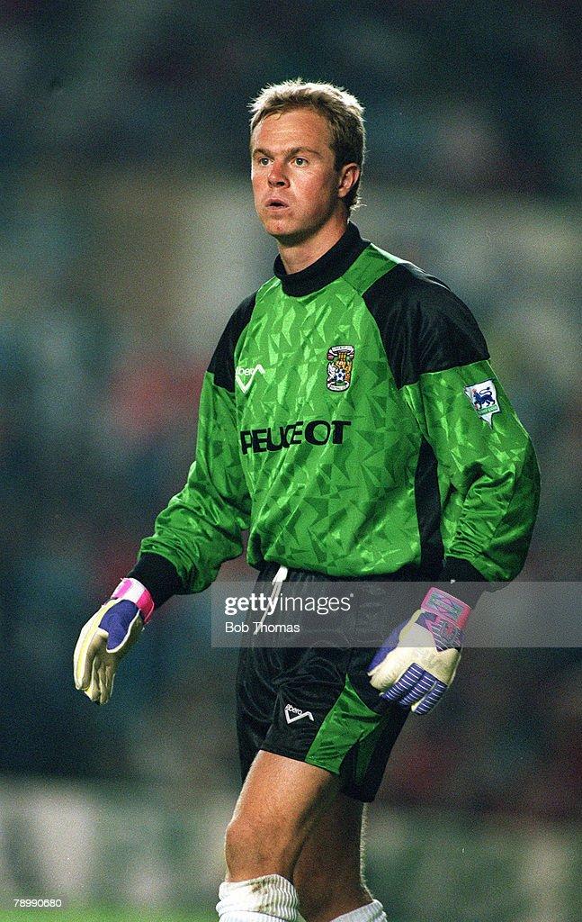 1993, Jonathan Gould, Coventry City goalkeeper News Photo ...Jon Gould