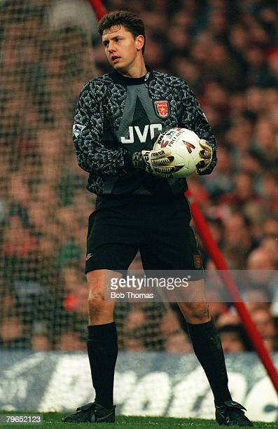 1994 Premier League Arsenal 1 v Leeds United 3 Vince Bartram Arsenal goalkeeper