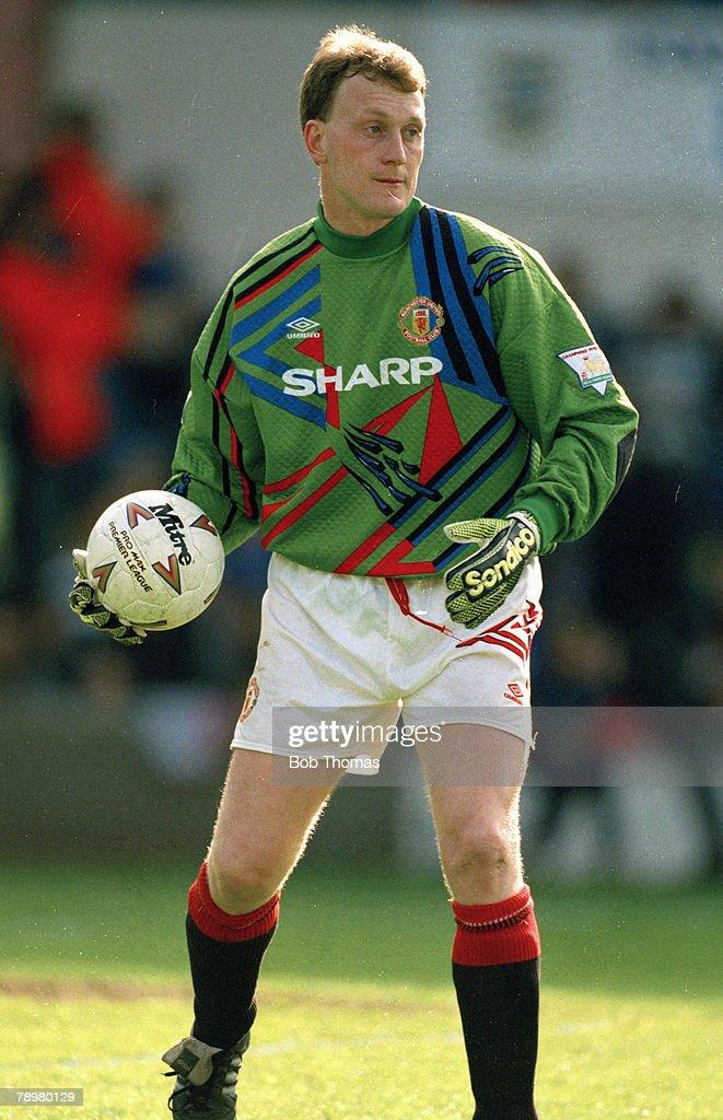 Sport. Football. pic: 1994. Premiership. Gary Walsh, Manchester United goalkeeper. : News Photo