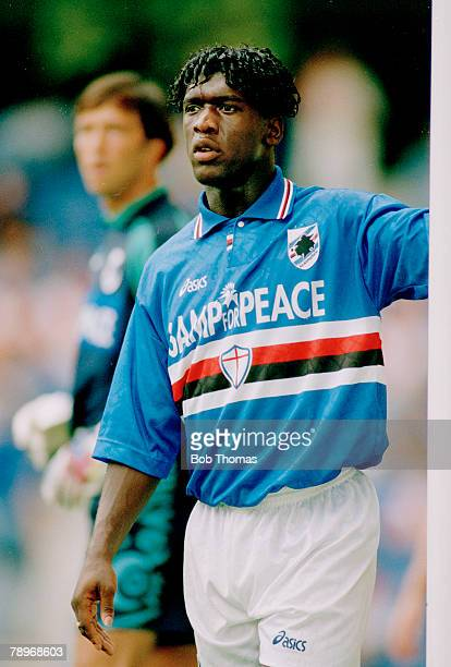 1995 Clarence Sedorf Sampdoria Clarence Seedorf a Dutch midfield player had played in 77 international matches for Holland