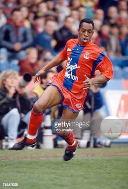 1st April 1991, Division 1, Ian Wright, Crystal Palace striker 1985-1991, Ian Wright won 33 England international caps between 1991-1999