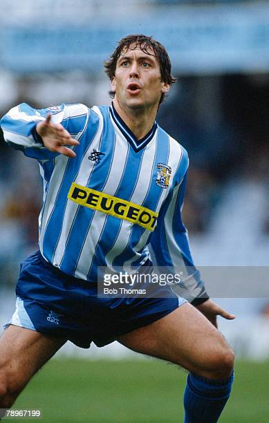 1st April 1991 Division 1 Kenny Sansom Coventry City full back Kenny Sansom won 86 England international caps between 19791988