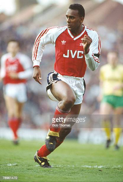 1st May 1989 Division 1 David Rocastle Arsenal midfielder 19841992 David Rocastle won 14 England international caps between 19891992 He died of...