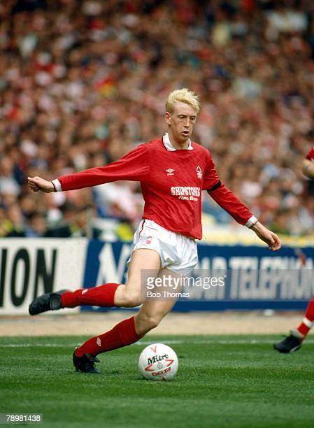 1st May 1989 Simod Cup Final at Wembley Everton 3 v Nottingham Forest 4 aet Terry Wilson Nottingham Forest 19871992