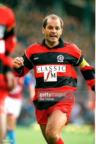 1st November 1992 Premier League Aston Villa 2 v Queens Park Rangers Ray Wilkins Queens Park Rangers Ray Wilkins a midfield player won 84 England...