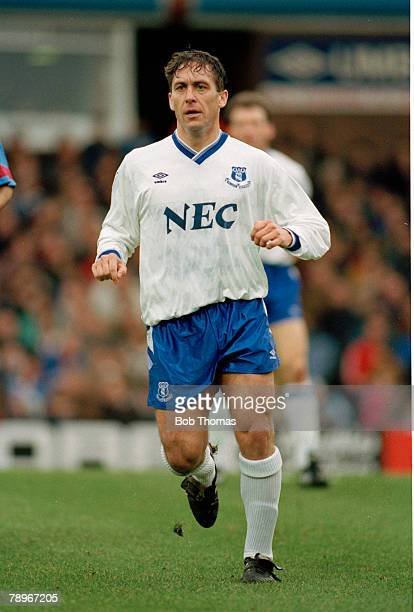 20th February 1993 Kenny Sansom Everton full back Kenny Sansom won 86 England international caps between 19791988
