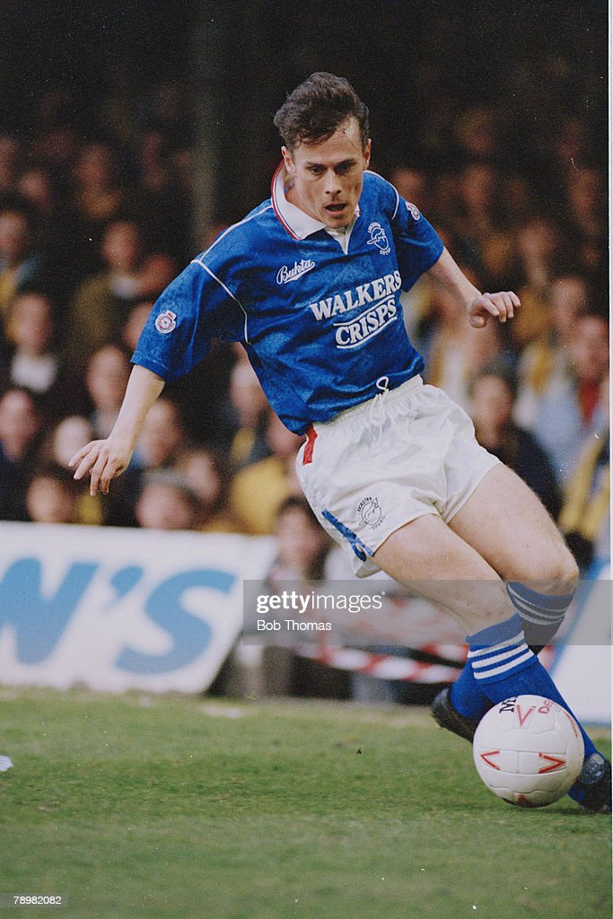 21st April 1992, Division 2, Tommy Wright, Leicester City News ...