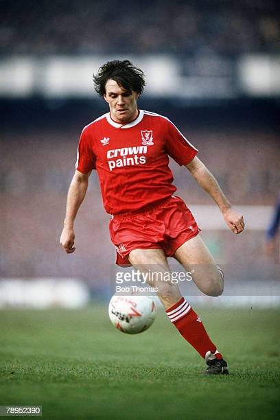 21st February 1988 FA Cup 5th Round Everton 0 v Liverpool 1 Ray Houghton Liverpool