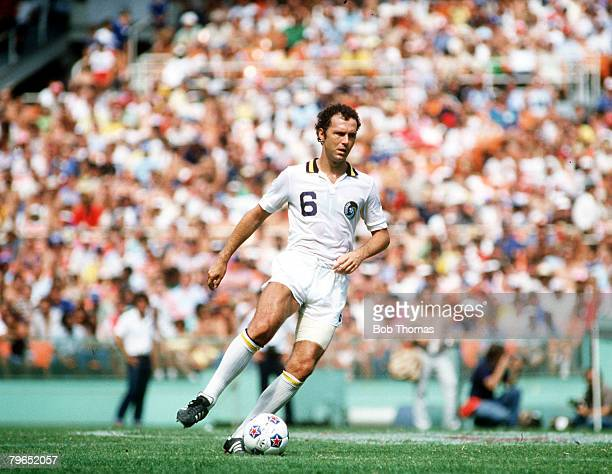 21st September 1980 Soccer Bowl 80 Franz Beckenbauer New York Cosmos