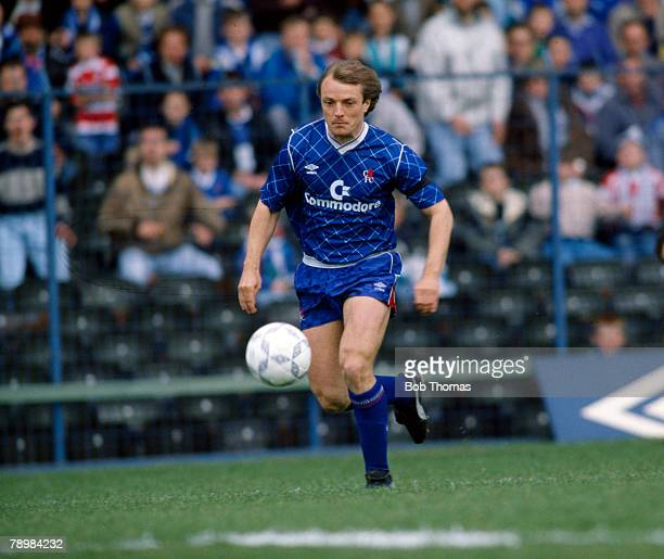22nd April 1989, Division 1, John Bumpstead, Chelsea