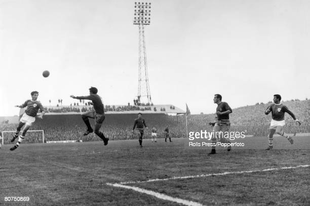 23rd October 1966 European Championship Qualifier at Dalymount Park Dublin Republic of Ireland 0 v Spain 0 A general view of action from the game...