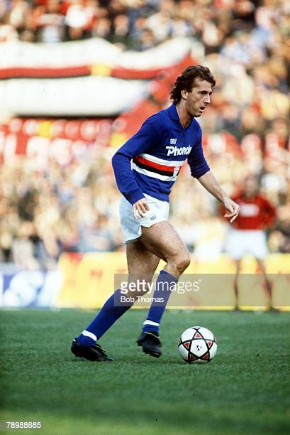 23rd October 1983 Italian League Serie A in Milan Trevor Francis Sampdoria