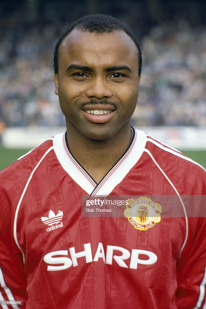 Sport. Football. pic: 23rd September 1989. Danny Wallace, Manchester United, who also won 1 solitary England cap in 1986 against Egypt. : Foto di attualità