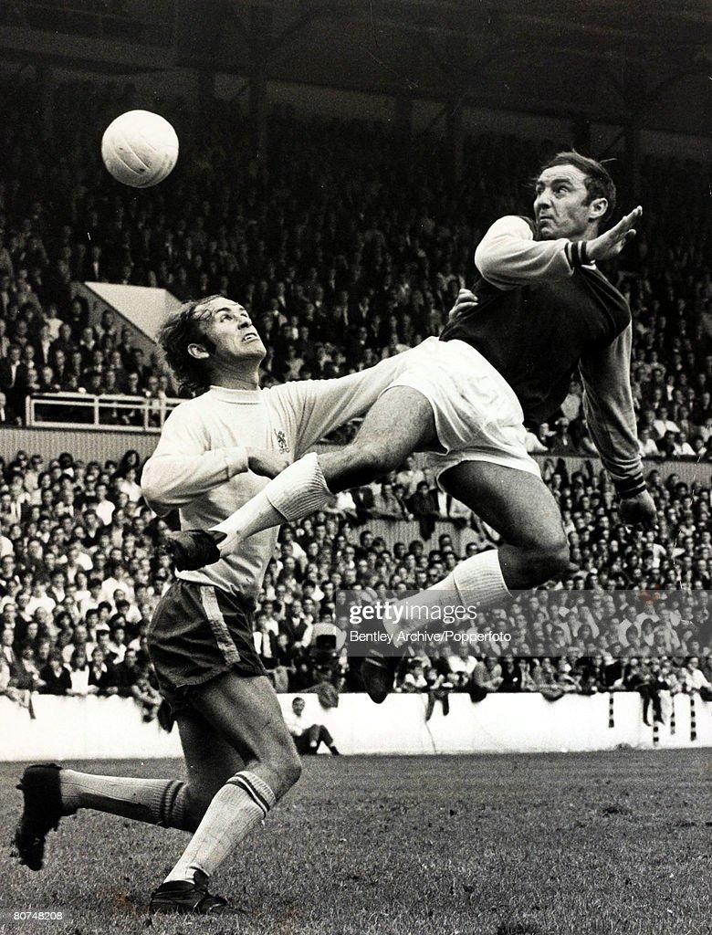 24th August 1970, Division 1, West Ham United v Chelsea, West Ham ...